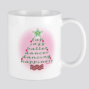 Dancers Christmas Tree by DanceShirts.com Mug
