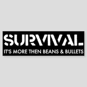 Survival Bumper Sticker