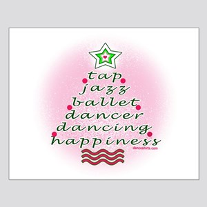 Dancers' Christmas Tree Small Poster