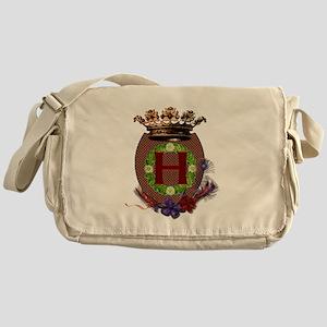 H Crest Messenger Bag