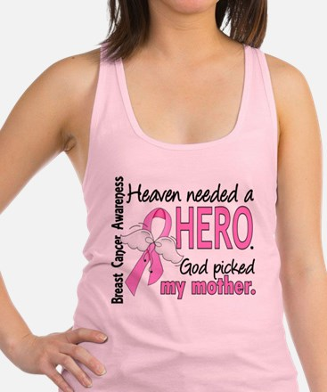 Heaven Needed a Hero Breast Cancer Tank Top
