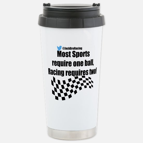 Racing requires two balls Mugs