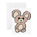 Stuffed Beary Greeting Cards (Pk of 20)