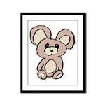 Stuffed Beary Framed Panel Print