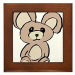 Stuffed Beary Framed Tile
