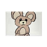 Stuffed Beary Rectangle Magnet (10 pack)
