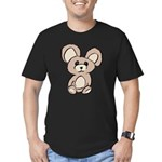 Stuffed Beary Men's Fitted T-Shirt (dark)