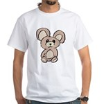 Stuffed Beary White T-Shirt