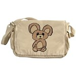 Stuffed Beary Messenger Bag