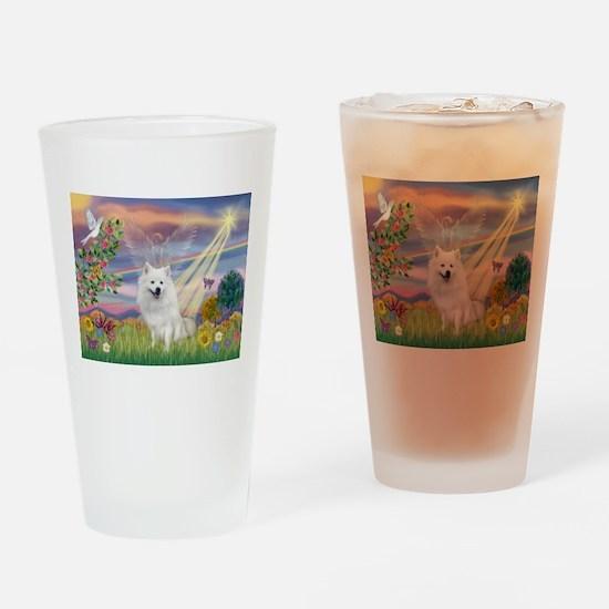 Cloud Angel / Eskimo Drinking Glass