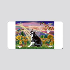 Autumn Angel & Boston Aluminum License Plate