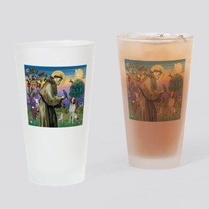 St Francis / American Brittan Drinking Glass