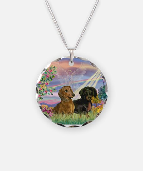 Cloud Angel Doxies Necklace
