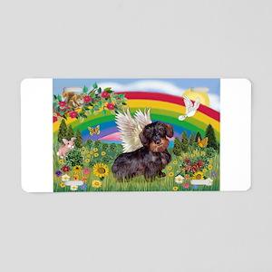 Rainbow Bright / Dachshund (w Aluminum License Pla