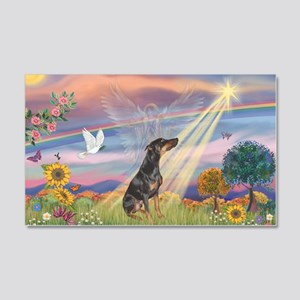 Cloud Angel - Dobie (B) 22x14 Wall Peel
