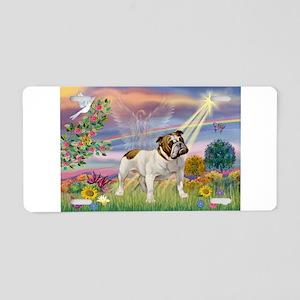 Cloud Angel / Bulldog Aluminum License Plate
