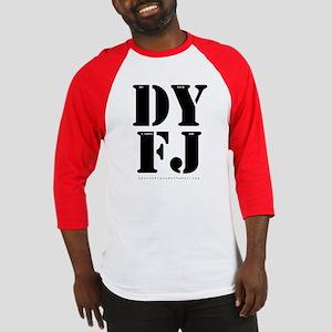 DYFJ censored Baseball Tee
