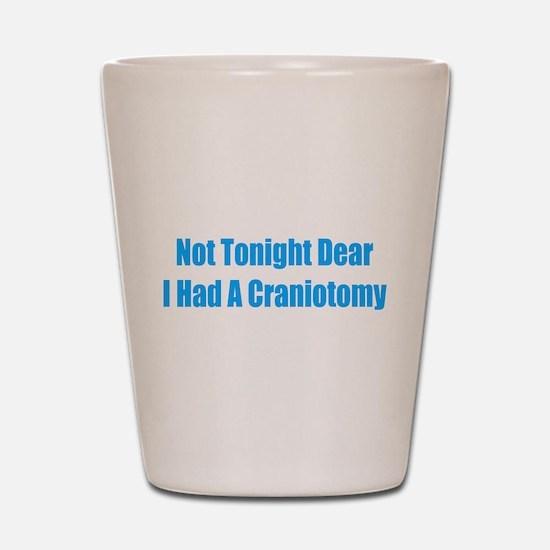 Not Tonight Dear Shot Glass