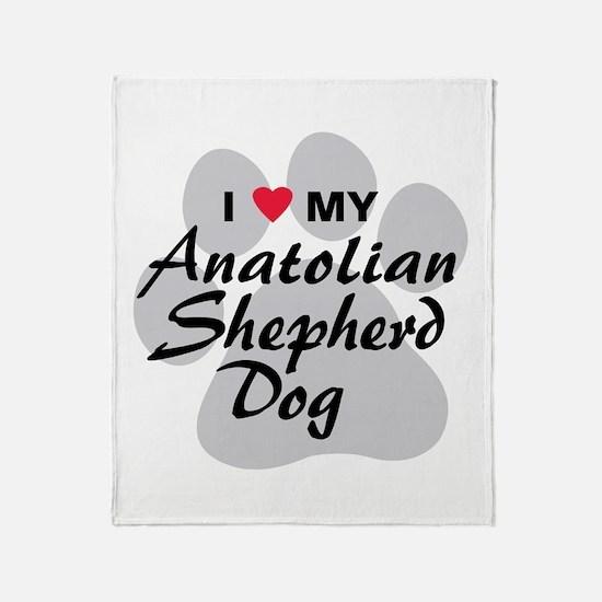 Anatolian Shepherd Dog Throw Blanket