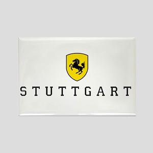 Stuttgarter Wappen Rectangle Magnet
