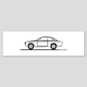 1966 Alfa GTA GTV Sticker (Bumper)
