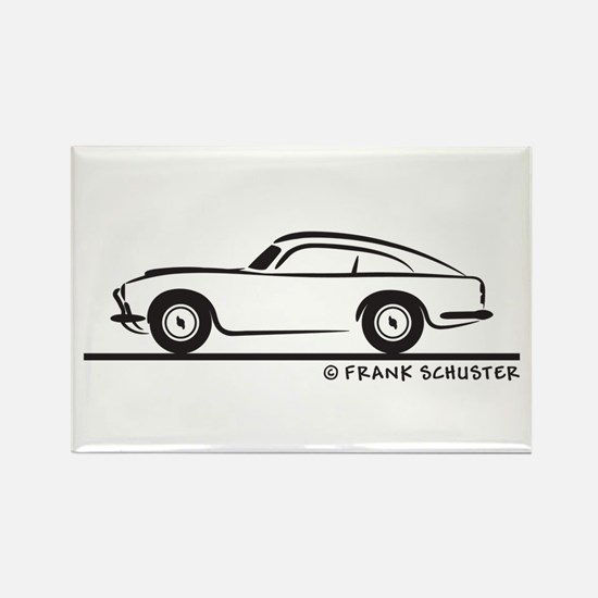 Aston Martin DB5 Rectangle Magnet