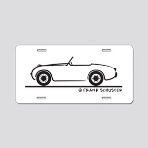 1959 Austin Healey Sprite Aluminum License Plate