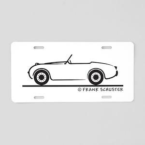 1959 Austin Healey Sprite Aluminum License Plate