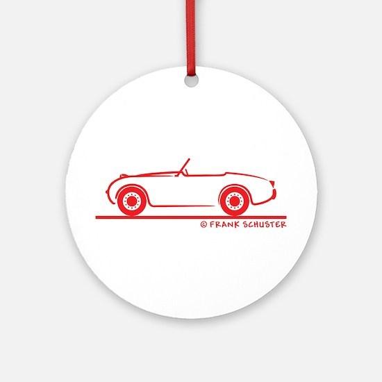 1959 Austin Healey Sprite Ornament (Round)