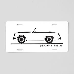 Master Aluminum License Plate