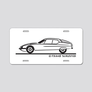 Citroen SM Aluminum License Plate