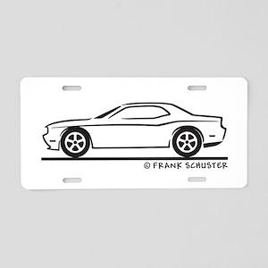 New Dodge Challenger Aluminum License Plate