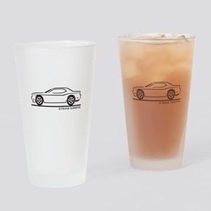 New Dodge Challenger Drinking Glass