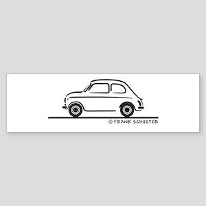 Fiat 500 Cinquecento Sticker (Bumper)