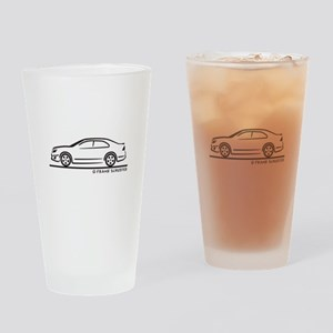 Ford Fusion Drinking Glass
