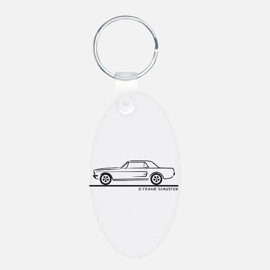 1968 Mustang Hardtop Keychains
