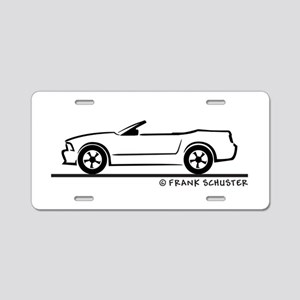 2007 Ford Mustang Convertible Aluminum License Pla