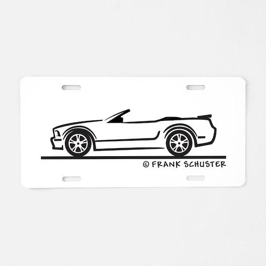New Ford GT Mustang Convertib Aluminum License Pla