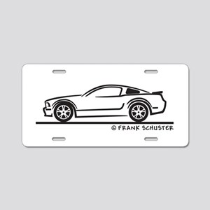 Ford Mustang GT Fastback Aluminum License Plate