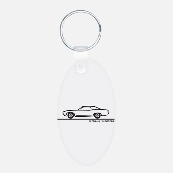 1971 Ford Torino Coupe Keychains