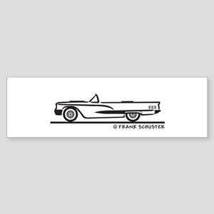 1960 Ford Thunderbird Convert Sticker (Bumper)