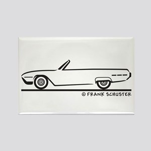 1962 Ford Thunderbird Convert Rectangle Magnet