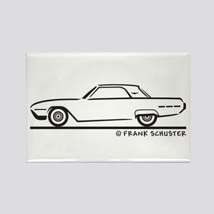 1962 Ford Thunderbird Hard To Rectangle Magnet