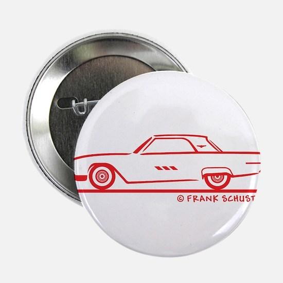 "1963 Ford Thunderbird Hard To 2.25"" Button (1"