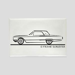 1964 Ford Thunderbird Hard T Rectangle Magnet