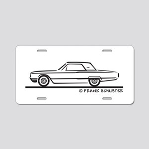 1964 Ford Thunderbird Hard T Aluminum License Plat