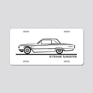1965 Ford Thunderbird Landau Aluminum License Plat