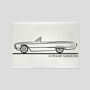 1966 Ford Thunderbird Convert Rectangle Magnet