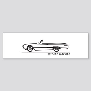 1966 Ford Thunderbird Convert Sticker (Bumper)
