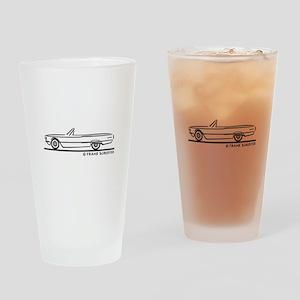 1966 Ford Thunderbird Convert Drinking Glass